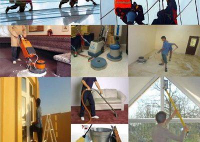 دراسة جدوى شركة صيانة ونظافة عامة