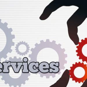 القطاع الخدمى